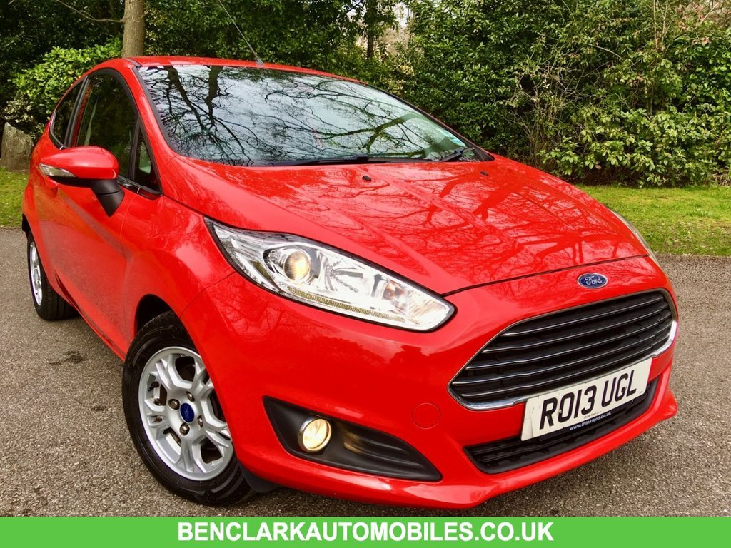 USED 2013 13 FORD FIESTA 1.6 TITANIUM ECONETIC TDCI 3d 94 BHP//ZERO ROAD TAX//1 LADY OWNER//FULL HEATED LEATHER SEATS//REAR PARK ASSIST//ELECTRIC FOLD MIRRORS//FULL SERVICE HISTORY 94 BHP//ZERO ROAD TAX//1 LADY OWNER//FULL HEATED LEATHER SEATS//REAR PARK ASSIST//ELECTRIC FOLD MIRRORS