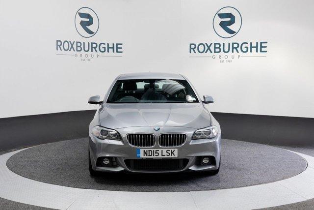 USED 2015 15 BMW 5 SERIES 2.0 520D M SPORT 4d 188 BHP