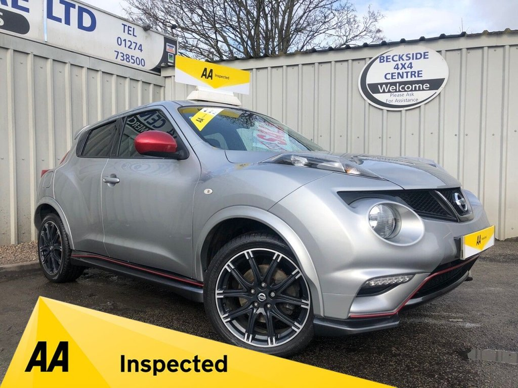 USED 2013 63 NISSAN JUKE 1.6 NISMO DIG-T 5d 200 BHP AA INSPECTED. FINANCE. WARRANTY. HIGH SPEC. LOW MILEAGE. MANY EXTRAS