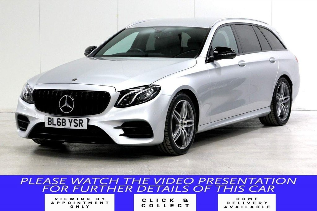 USED 2018 68 MERCEDES-BENZ E-CLASS 2.0 E200 AMG Line G-Tronic+ (s/s) 5dr VAT Q*REAR CAM*MB WARRANTY