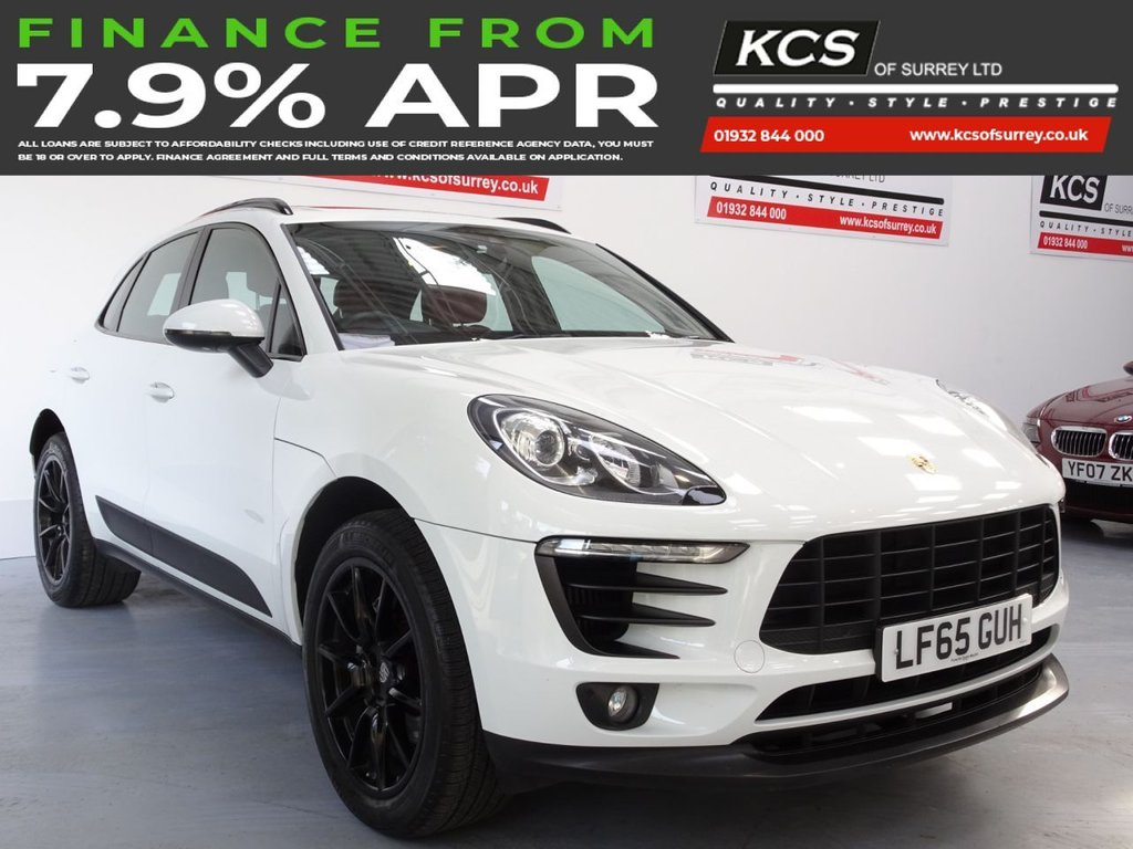 USED 2015 65 PORSCHE MACAN 3.0 S PDK 5d 340 BHP PAN ROOF - 10K FACTORY OPTIONS