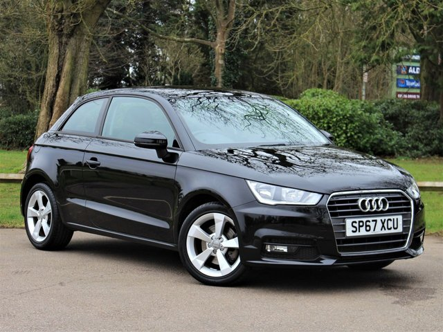 USED 2017 67 AUDI A1 1.4 TFSI SPORT 3d 123 BHP £139 PCM With £1095 Deposit