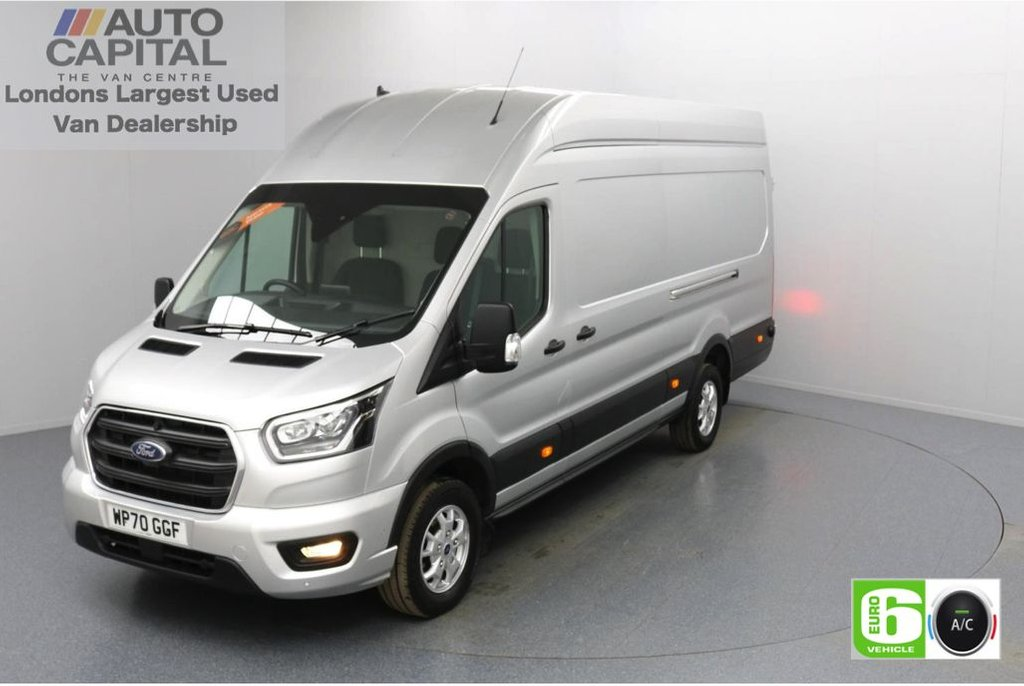 USED 2020 70 FORD TRANSIT 2.0 350 RWD Limited EcoBlue 185 BHP L4 H3 Low Emission Sat Nav | Eco Mode | Auto Start-Stop | Front and rear parking distance sensors | Alloy wheels