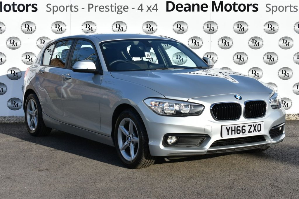 USED 2016 66 BMW 1 SERIES 1.5 116D ED PLUS 5d 114 BHP SAT NAV