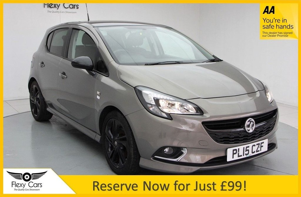 USED 2015 15 VAUXHALL CORSA 1.4 LIMITED EDITION S/S 5d 99 BHP