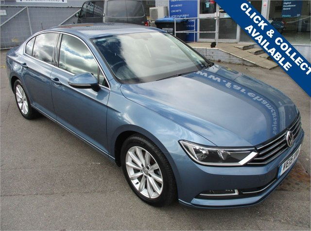 USED 2015 15 VOLKSWAGEN PASSAT 2.0 SE BUSINESS TDI BLUEMOTION TECHNOLOGY 4d 148 BHP FANTASTIC CONDITION AND DRIVE