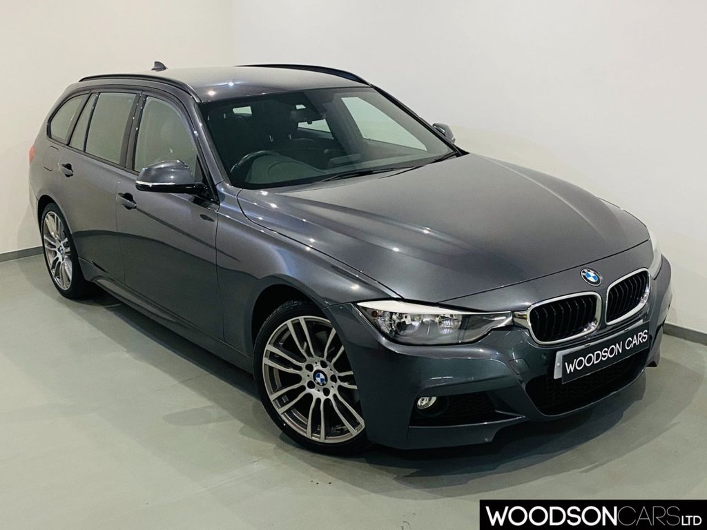 USED 2013 13 BMW 3 SERIES 3.0 330D XDRIVE M SPORT TOURING 5d 255 BHP Sat Nav / Leather / Isofix / Bluetooth / Cruise Control