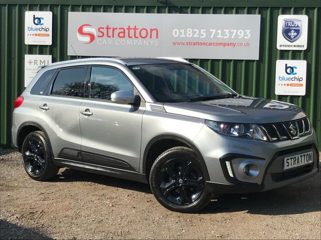 USED 2017 17 SUZUKI VITARA 1.4 S BOOSTERJET ALLGRIP 5d 138 BHP ONE OWNER