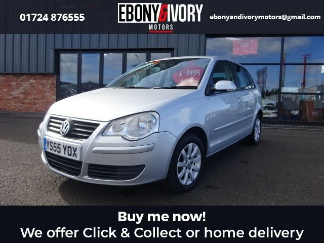 USED 2006 55 VOLKSWAGEN POLO 1.4 SE 5d 74 BHP + FULL SERVICE HISTORY + 1 YEAR MOT AND BREAKDOWN COVER