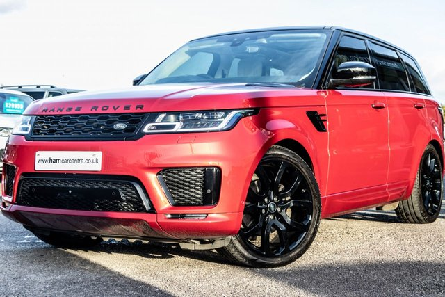 2019 68 LAND ROVER RANGE ROVER SPORT 3.0 SDV6 AUTOBIOGRAPHY DYNAMIC 5d 306 BHP HEADS UP DISPLAY PAN-ROOF