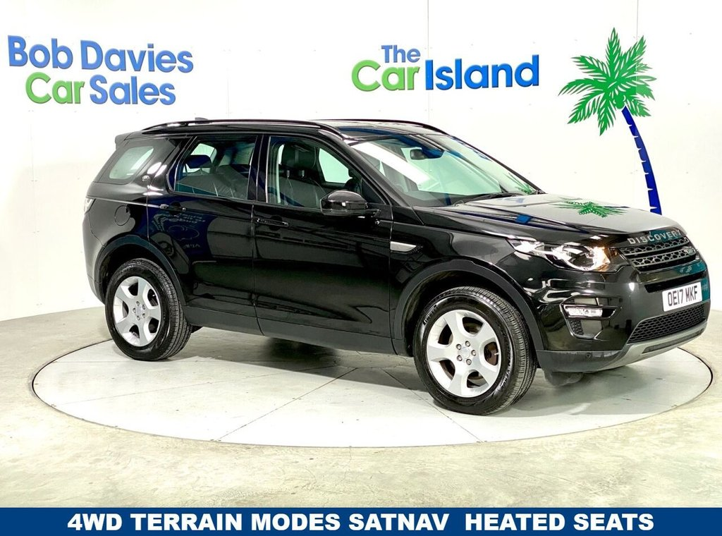 USED 2017 17 LAND ROVER DISCOVERY SPORT 2.0 TD4 SE TECH 5d 150 BHP SATNAV, DVD PLAYER, Heated Seats, 4x4 with 37000 miles