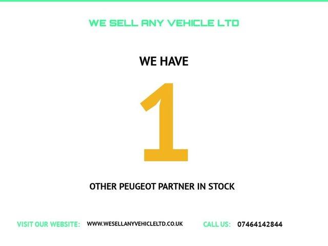 USED 2007 07 PEUGEOT PARTNER 1.6 600 L SWB 74 BHP 1 YEAR MOT INCLUDED