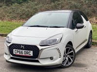 USED 2017 66 DS DS 3 1.2 PURETECH GIVENCHY LE MAKEUP S/S 3d ONE OWNER FROM NEW, SERVICE HISTORY, 12 MONTHS MOT, FULL LEATHER INTERIOR, SATELLITE NAVIGATION, CRUISE, BLUETOOTH
