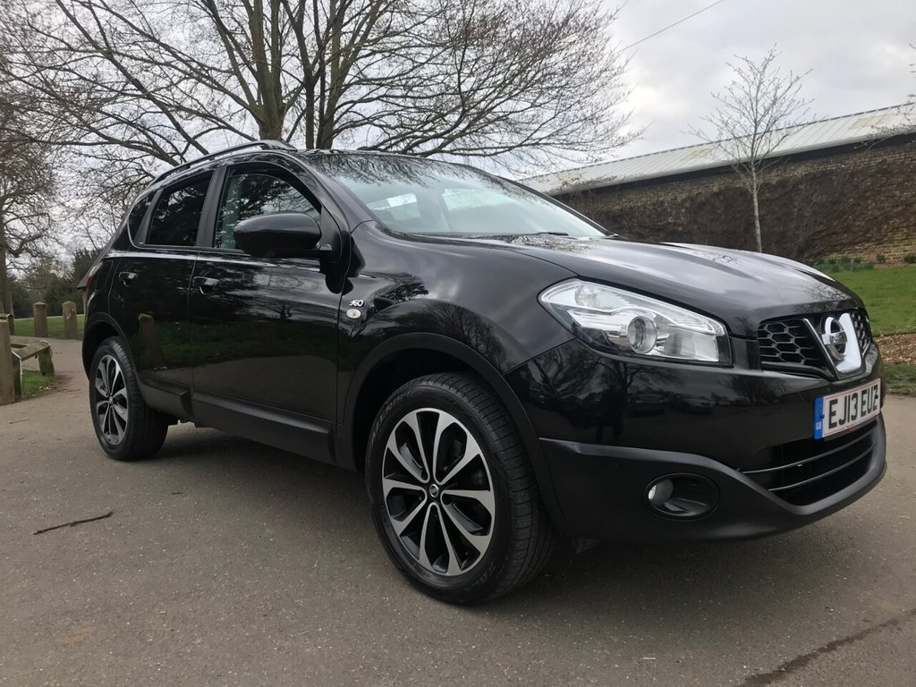 USED 2013 13 NISSAN QASHQAI 1.6 360 5d 117 BHP Ever Popular Top Of The Range Qashqai With A Big Specification !!