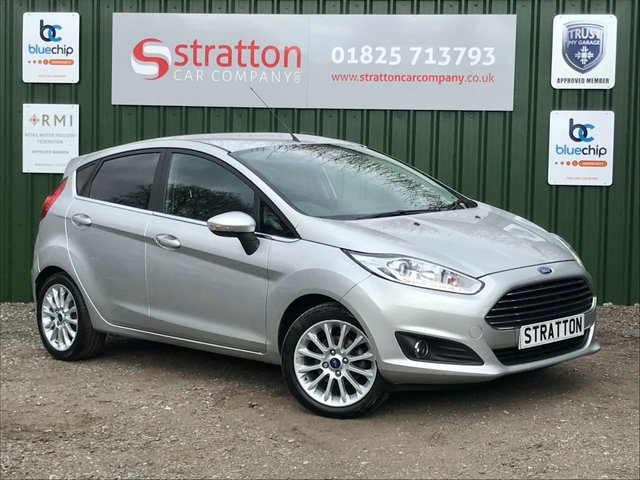 USED 2014 14 FORD FIESTA 1.0 TITANIUM X 5d 124 BHP ONE OWNER FROM NEW