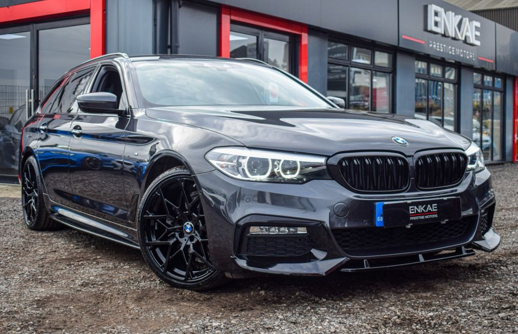 USED 2017 67 BMW 5 SERIES 2.0 520D M SPORT TOURING 5d 188 BHP VAT QUALIFYING