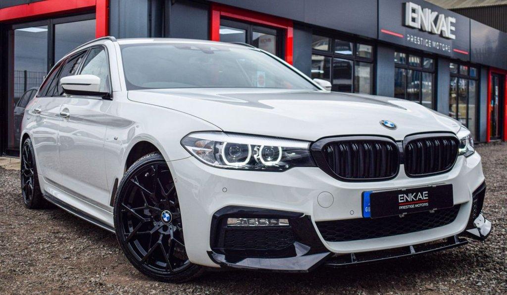 USED 2017 67 BMW 5 SERIES 2.0 520D M SPORT TOURING 5d 188 BHP VAT QUALIFYING