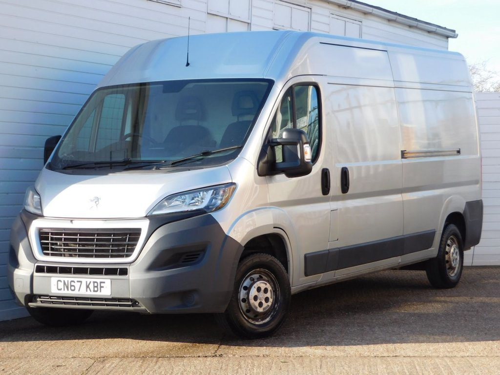 USED 2017 67 PEUGEOT BOXER 2.0 BLUE HDI 335 L3H2 PROFESSIONAL P/V 130 BHP Buy Online Moneyback Guarantee
