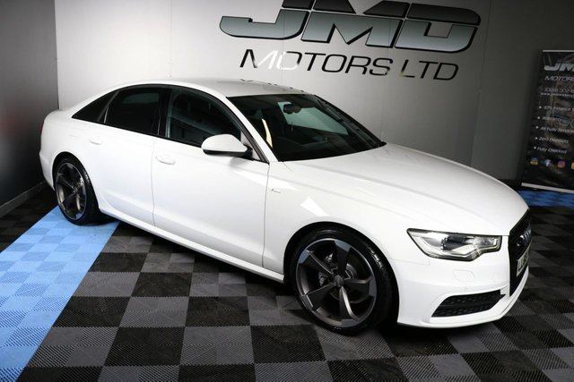 USED 2014 63 AUDI A6 2014 AUDI A6 2.0 TDI S LINE BLACK EDITION STYLE AUTO 177 BHP (FINANCE AND WARRANTY)