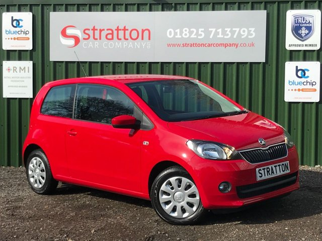USED 2012 12 SKODA CITIGO 1.0 SE 12V 3d 59 BHP ONLY GROUP 1 INSURANCE