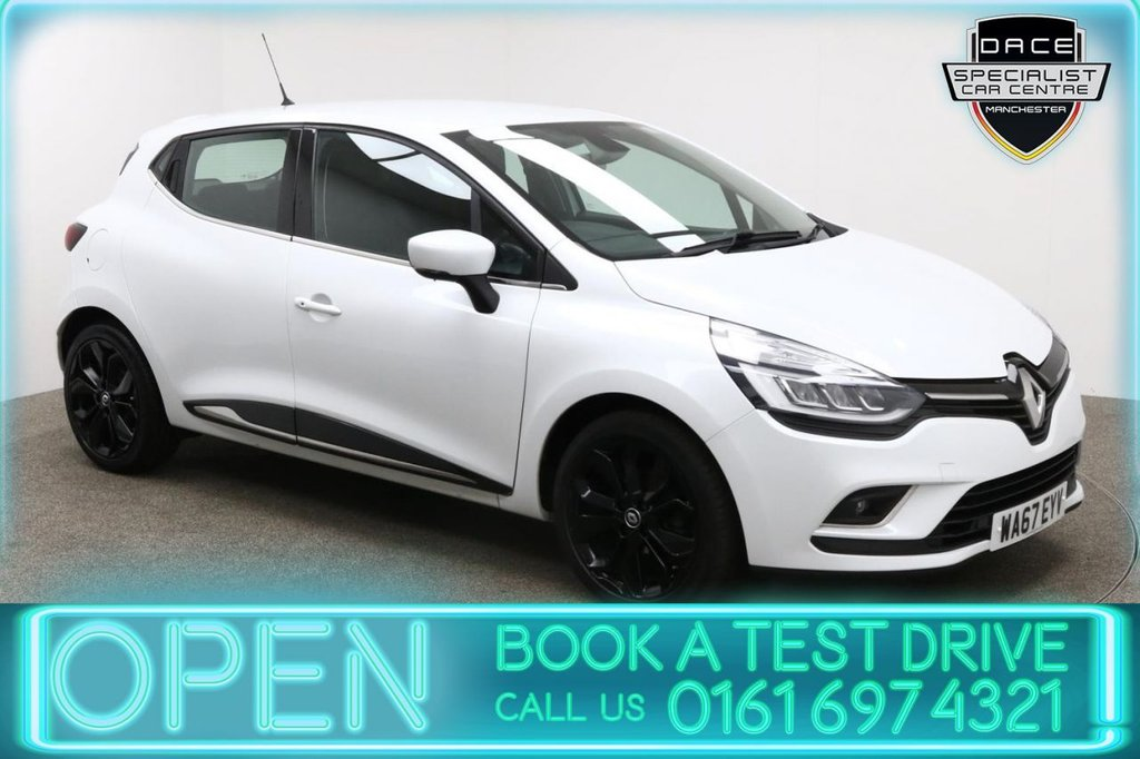 USED 2017 67 RENAULT CLIO 1.2 DYNAMIQUE S NAV TCE 5d AUTO 117 BHP
