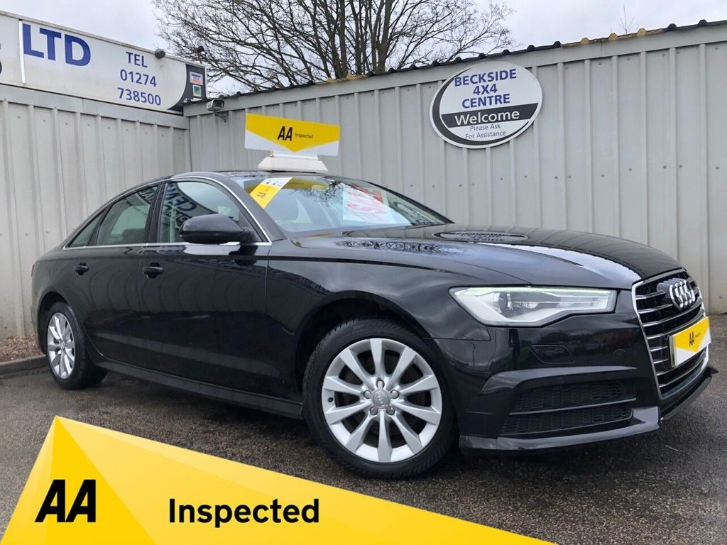 USED 2016 16 AUDI A6 2.0 TDI ULTRA SE EXECUTIVE 4d 188 BHP AA INSPECTED. FINANCE. WARRANTY. LOW MILEAGE. MANY EXTRAS