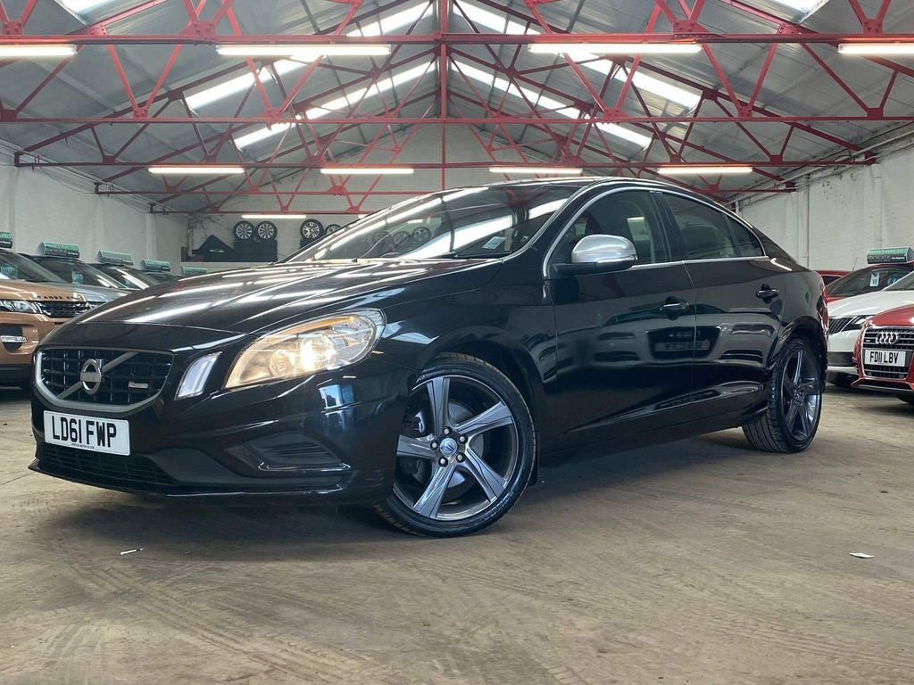 USED 2011 61 VOLVO S60 1.6 DRIVE R-DESIGN S/S 4d 113 BHP ++OVER £600 WORTH OF EXTRAS++