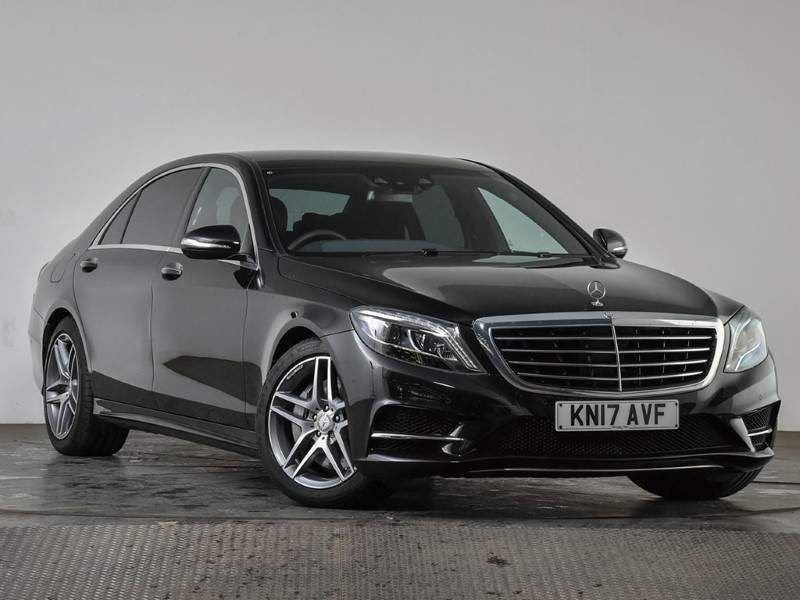 USED 2017 17 MERCEDES-BENZ S-CLASS 3.0 S350L d AMG Line (Executive) 9G-Tronic Plus (s/s) 4dr 1 Owner   3k Miles   Rear Pack