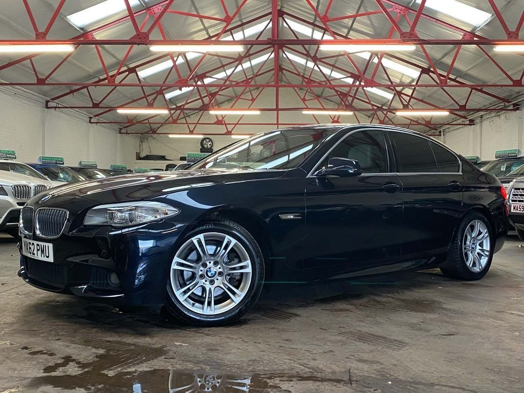 USED 2012 62 BMW 5 SERIES 2.0 520D M SPORT 4d 181 BHP ++OVER £3100 WORTH OF EXTRAS++