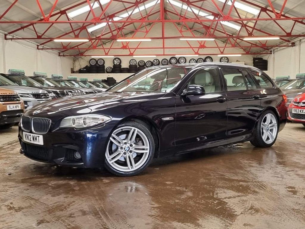 USED 2012 12 BMW 5 SERIES 2.0 520D M SPORT TOURING 5d 181 BHP ++OVER £5800 WORTH OF EXTRAS++