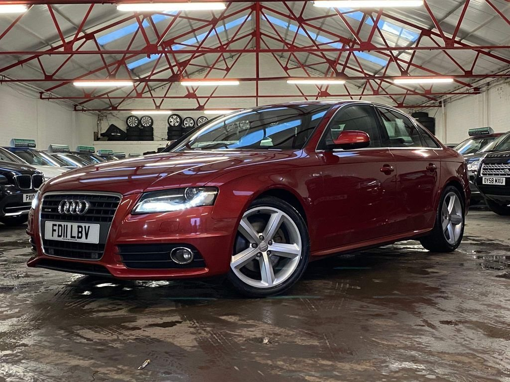 USED 2011 11 AUDI A4 2.0 TDI QUATTRO S LINE 4d 168 BHP ++OVER £2400 WORTH OF EXTRAS++