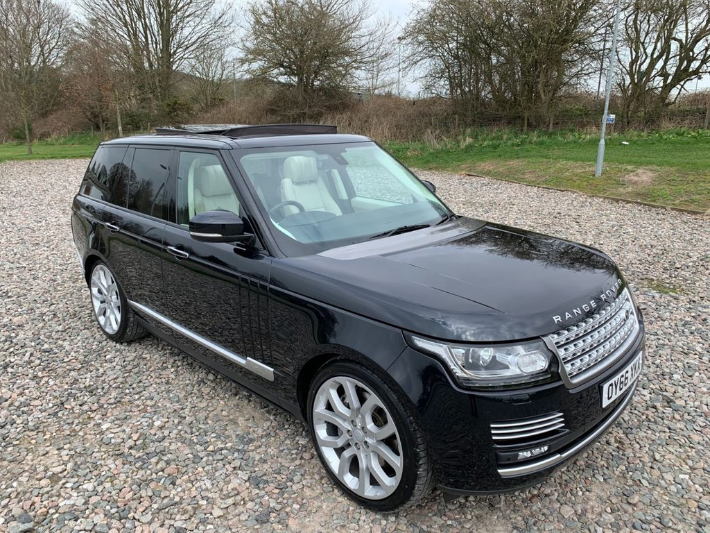 USED 2016 66 LAND ROVER RANGE ROVER 4.4 SDV8 AUTOBIOGRAPHY 5d 339 BHP Free Next Day Nationwide Delivery