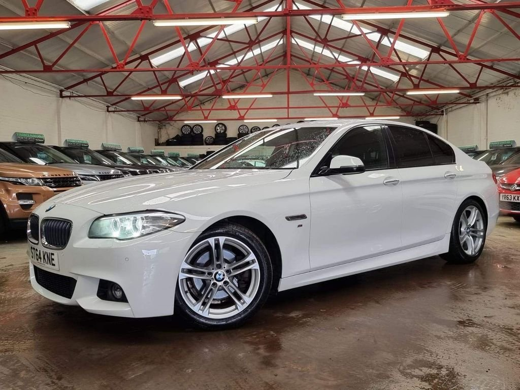 USED 2014 64 BMW 5 SERIES 2.0 520D M SPORT 4d 188 BHP ++OVER £2000 WORTH OF EXTRAS++