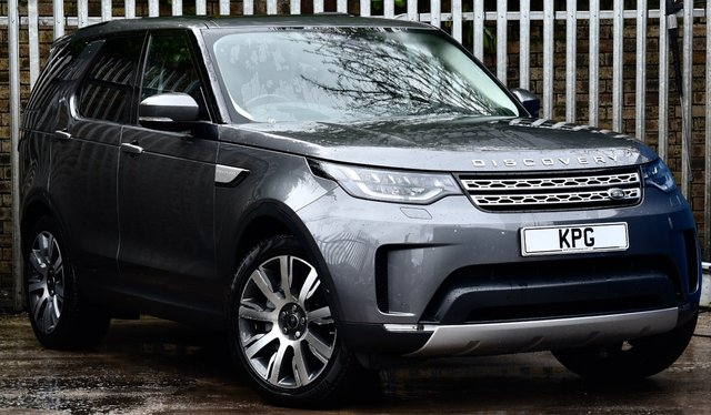 USED 2018 68 LAND ROVER DISCOVERY 3.0 SD V6 HSE Luxury Auto 4WD (s/s) 5dr £71k New, Rear Ent, 1 Owner