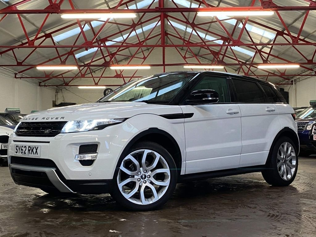 USED 2012 62 LAND ROVER RANGE ROVER EVOQUE 2.2 SD4 DYNAMIC 5d 190 BHP ++OVER £2000 WORTH OF EXTRAS++