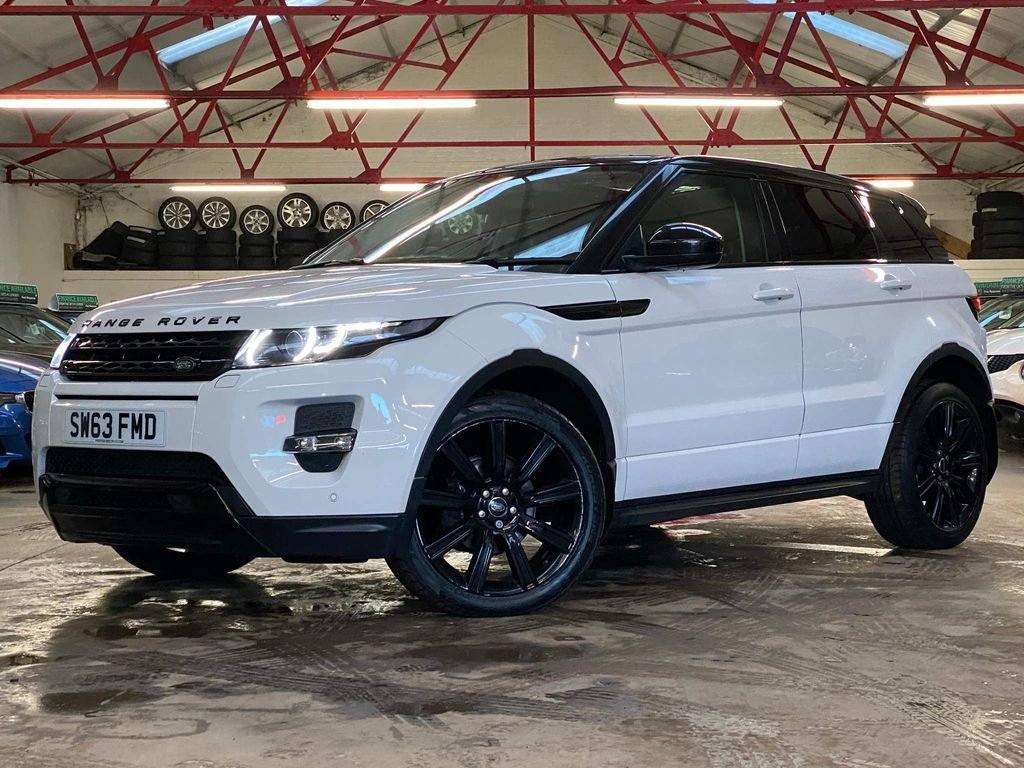 USED 2013 63 LAND ROVER RANGE ROVER EVOQUE 2.2 SD4 DYNAMIC 5d 190 BHP ++OVER £3900 WORTH OF EXTRAS++