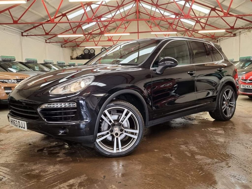 USED 2013 63 PORSCHE CAYENNE 3.0 D V6 TIPTRONIC 5d 245 BHP +OVER £17300 WORTH OF EXTRAS+