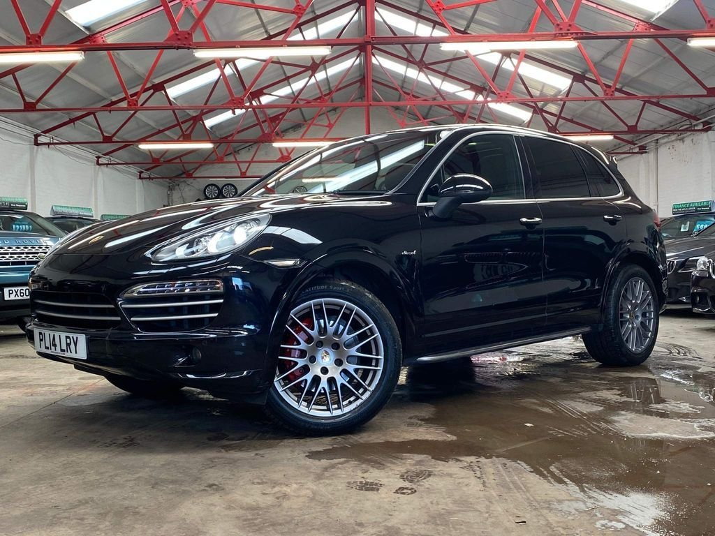 USED 2014 14 PORSCHE CAYENNE 3.0 PLATINUM EDITION D V6 TIPTRONIC 5d 245 BHP +OVER £11400 WORTH OF EXTRAS+