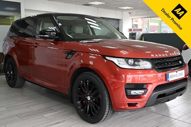 USED 2013 63 LAND ROVER RANGE ROVER SPORT AUTOBIOGRAPHY DYNAMIC SDV6 A