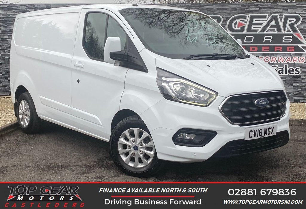 USED 2018 18 FORD TRANSIT CUSTOM 300 2.0 130 BHP LIMITED L1 H1 **  HEATED SEATS, A/C, PLY LINED  ** OVER 90 VEHICLES IN STOCK