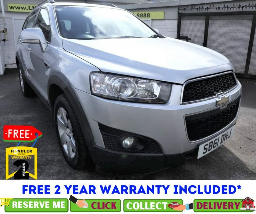 USED 2011 61 CHEVROLET CAPTIVA 2.2 LT VCDI 5d 184 BHP *CLICK & COLLECT OR DELIVERY *