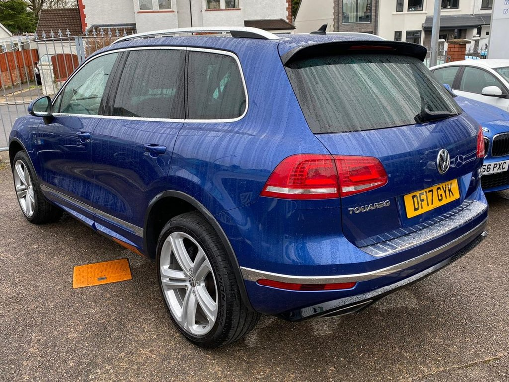 USED 2017 17 VOLKSWAGEN TOUAREG 3.0L V6 R-LINE PLUS TDI BLUEMOTION TECHNOLOGY 5d AUTO 259 BHP