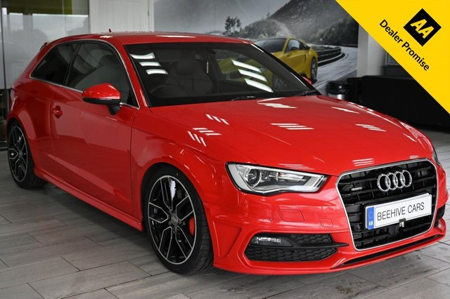 USED 2016 16 AUDI A3 S-LINE  DIESEL S-TRONIC