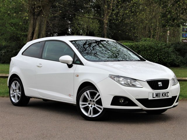 USED 2011 11 SEAT IBIZA 1.4 SE COPA 3d 85 BHP £53 PCM With £299 Deposit