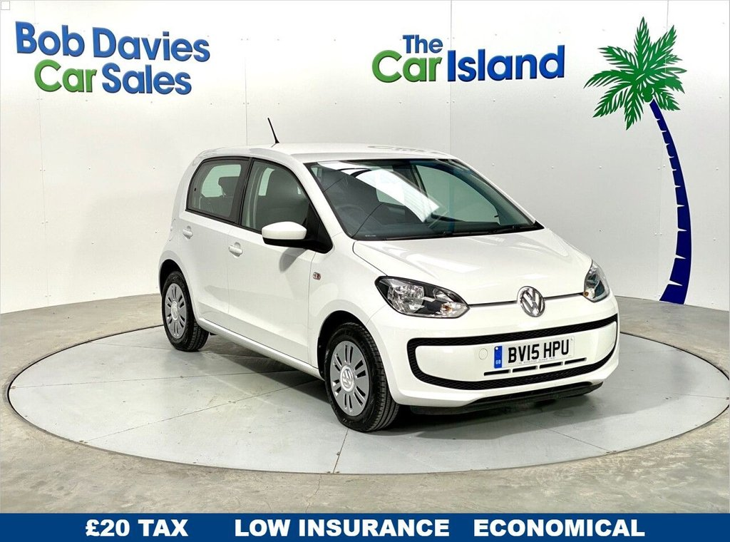 USED 2015 15 VOLKSWAGEN UP 1.0 MOVE UP 5d 59 BHP Air Con DAB Radio Full Service History 57000 Miles