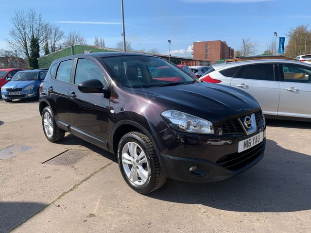 USED 2013 M NISSAN QASHQAI 1.6 ACENTA 5d 117 BHP FREE 12 MONTH AA RECOVERY INCL