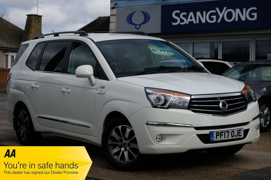 USED 2017 17 SSANGYONG RODIUS TURISMO 2.2 ELX 5d 176 BHP AUTOMATIC 7 SETAER AVAILABLE FOR £249 PER MONTH £0 DEPOSIT