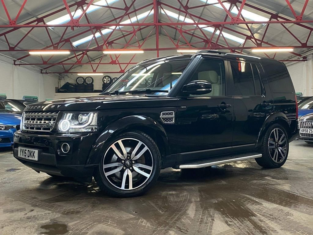 USED 2015 15 LAND ROVER DISCOVERY 3.0 SDV6 HSE LUXURY 5d 255 BHP ++OVER £2700 WORTH OF EXTRAS++