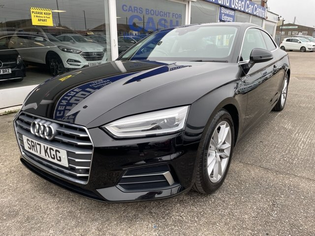 USED 2017 17 AUDI A5 2.0 TDI ULTRA SPORT 2d 188 BHP FULL LEATHER*1 OWNER*£20 TAX*PARKING SENSORS*DAB*BTOOTH