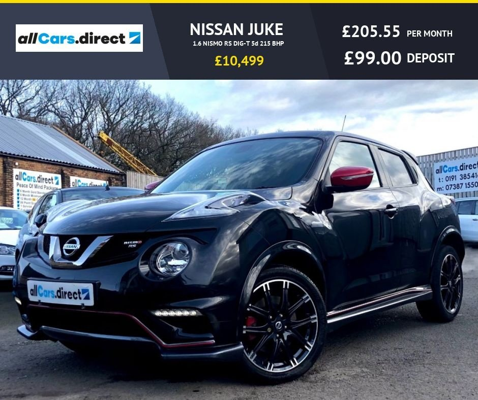USED 2016 16 NISSAN JUKE 1.6 NISMO RS DIG-T 5d 215 BHP
